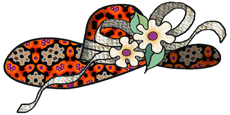 artbyjean paper crafts fashion hats or easter bonnets crafty rh artbyjean blogspot com baby bonnet clipart clip art bonnet de douche