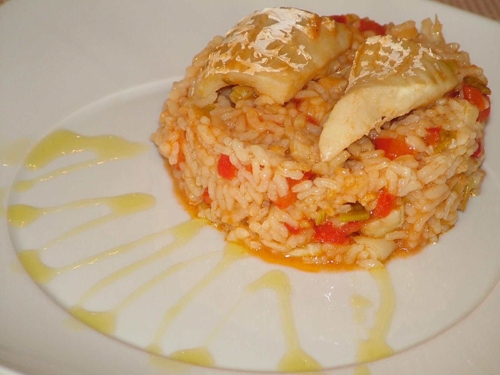 Gastropadi arroz con bacalao - Arroz con bacalao desmigado ...