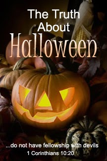 October 31- Eve of  SOLEMNITY OF ALL SAINTS on November 1 ---- Halloween is a pagan, anti-christian