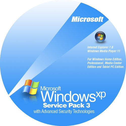 Windows xp professional service pack 3 software