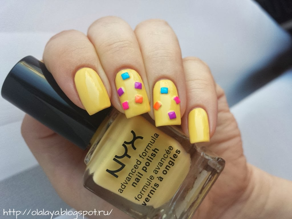 NYX Nail polish Pastel yellow NPS226