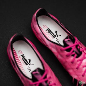 Nuevos botines Puma evoSPEED color rosa
