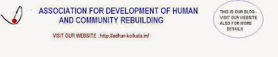ADHAR - Association for development of  human and community rebuilding
