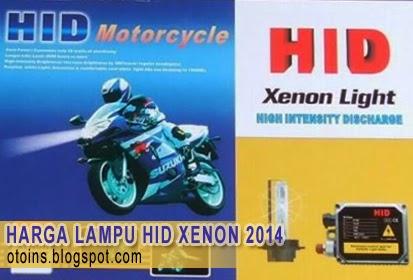 Rincian Harga Lampu Motor HID Xenon Terbaru 2015