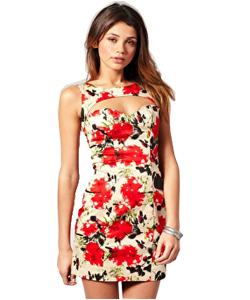 "<a href=""http://www.stylewithindia.blogspot.in"">Cute floral dress!</a>"