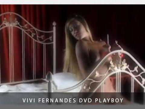 Vivi Fernandes DVD Playboy Melhores Making Off