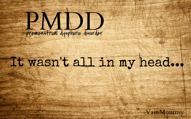Follow my battle with pmdd
