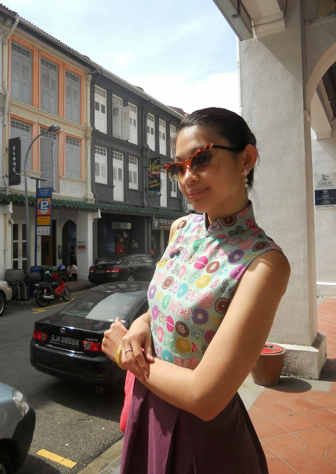 Singapore Cultural Qipaos