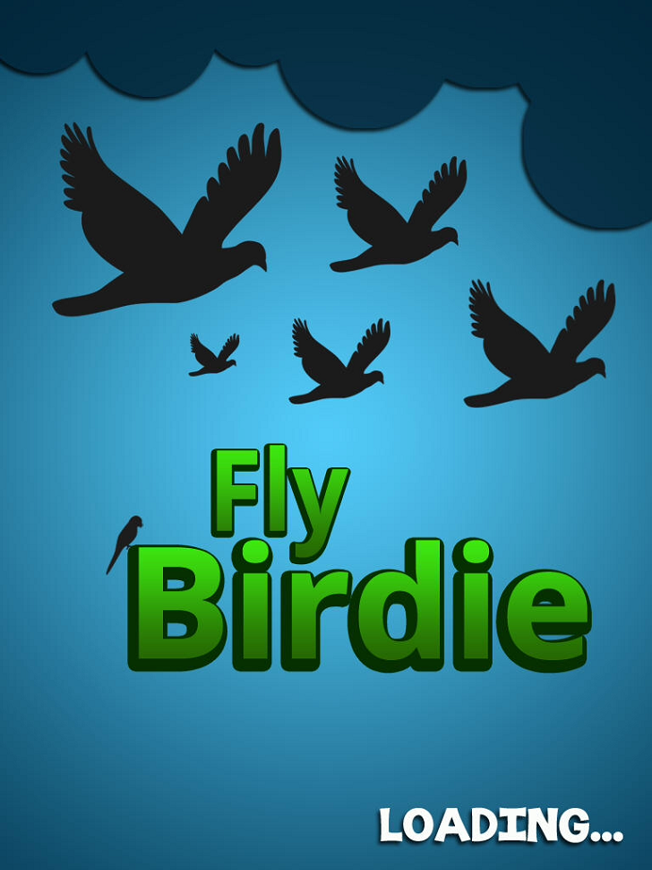 Fly Birdie - Flappy Bird Flyer Main Game App