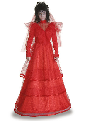Lydia deetz wedding dress beetlejuice costume for Lydia deetz wedding dress