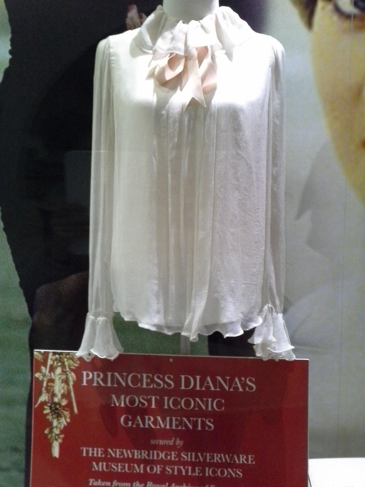 Diana de Gales, Museo Iconos de moda Newbridge, Irlanda
