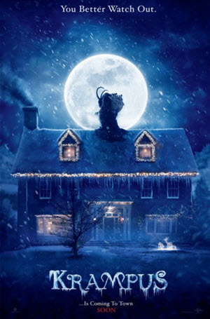 Krampus Official Theatrical Release Poster
