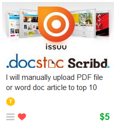 PDF Upload and Doc Sharing
