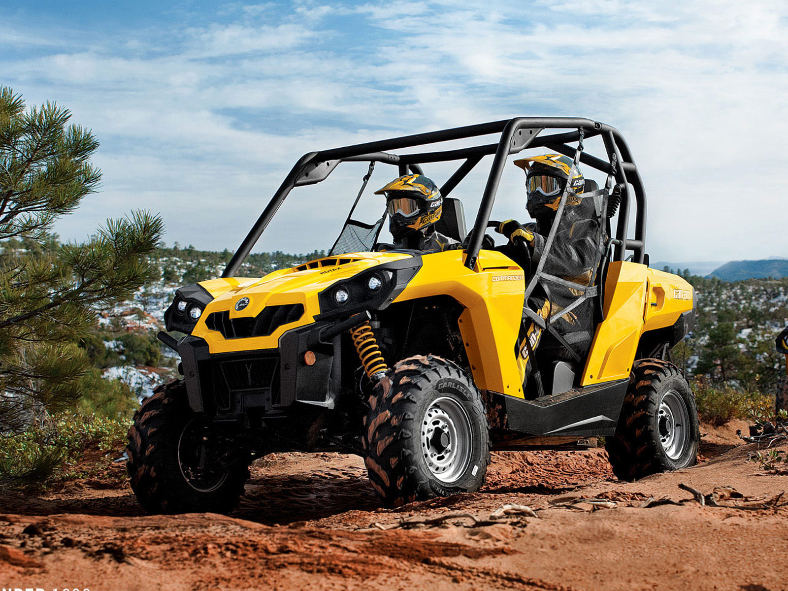 2012 Can-Am Commander 1000 ATV pictures 4