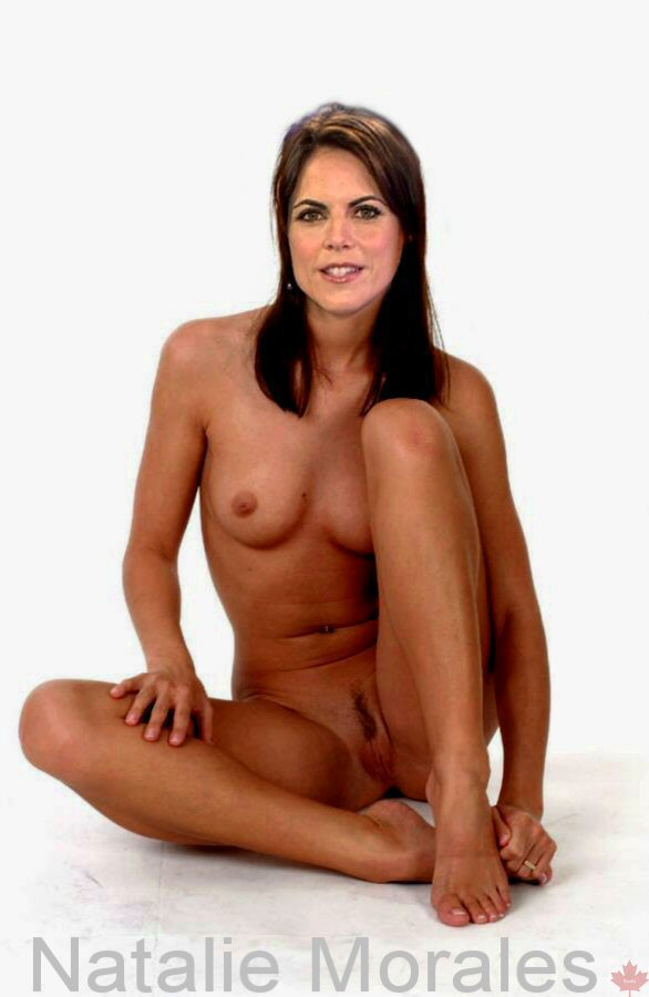 Someone took an upskirt photo of actress Natalie Morales