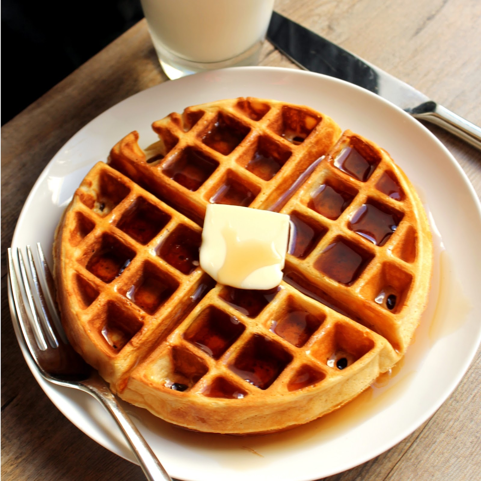 The Stay At Home Chef: Greek Yogurt Waffles