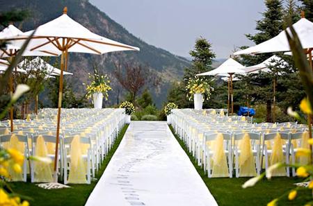 Aisle Wedding Decor