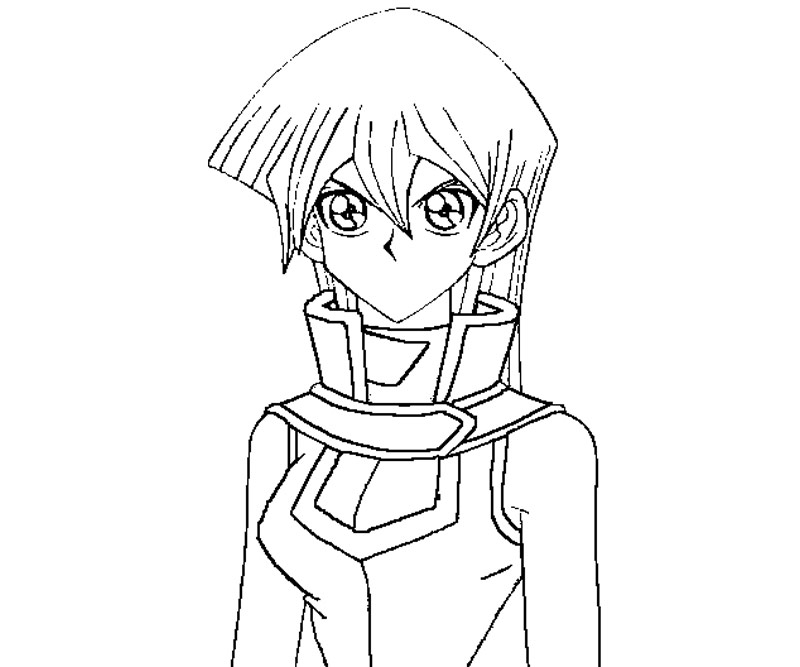yugioh gx coloring pages - photo#42