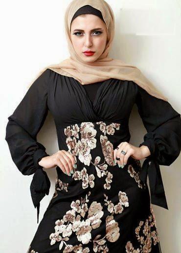 Hijab couleur mode