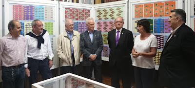 Inauguración Exposición de Vitolas de José Antonio Oca