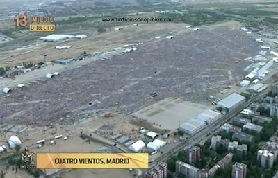 Vídeos: vigilia de oración en Cuatro Vientos. JMJ Madrid 2011