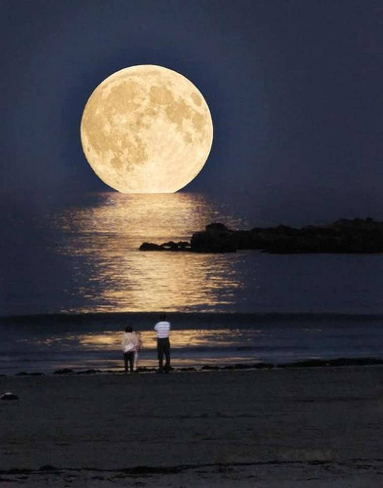 La Luna Oggi Foto Luna