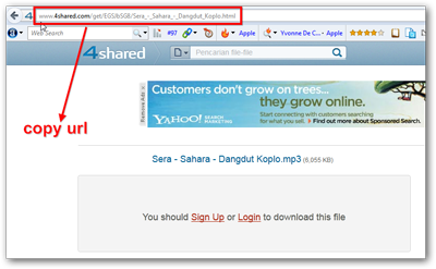 Thumbnail Cara Download Di 4Shared Tanpa Login 4