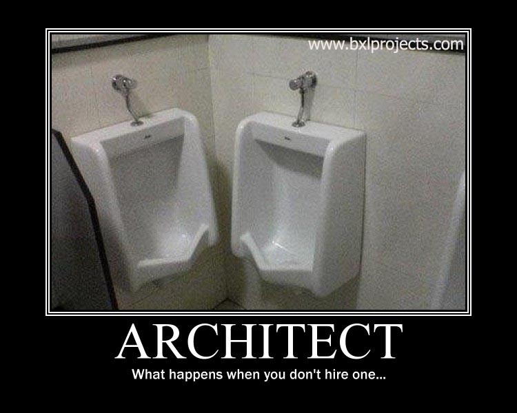Mr z people need architects for Do i need an architect