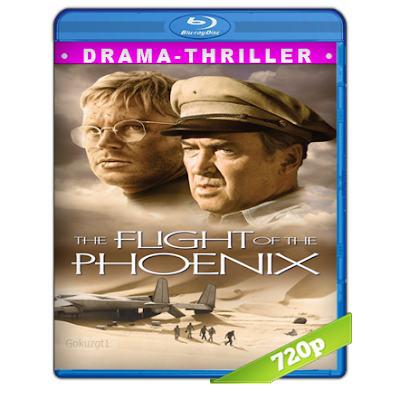 El Vuelo Del Fenix (1965) BRRip 720p Audio Trial Latino-Castellano-Ingles 2.0