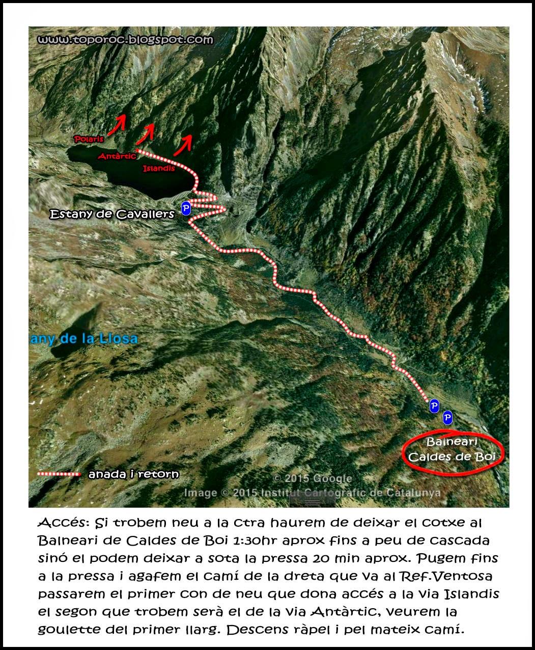 Topo-roc-Vall de Boi-Cascades