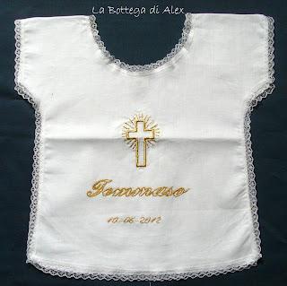 camicino battesimo