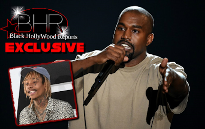 "Kanye West Fends Feud With Wiz Khalifa, Claiming ""Were All Good Now"""