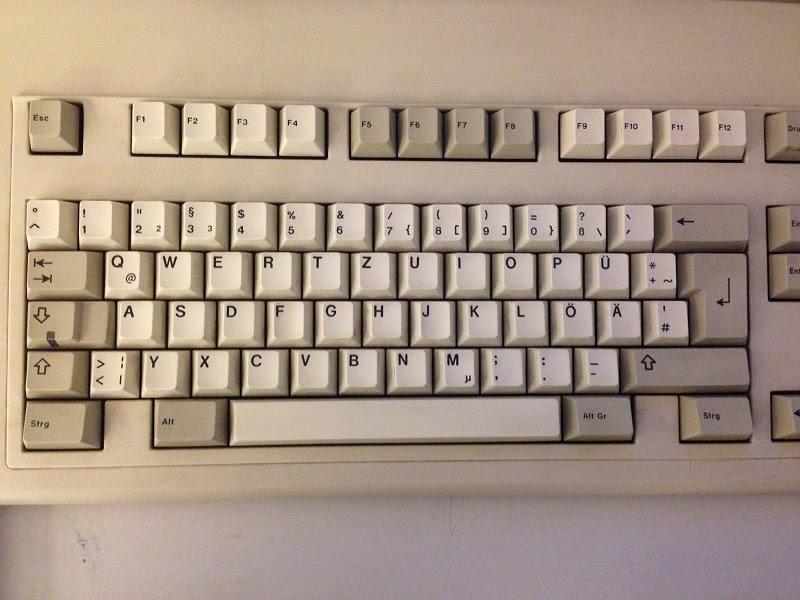 Alemania entre bastidores mecanograf a - Foto teclado ordenador ...