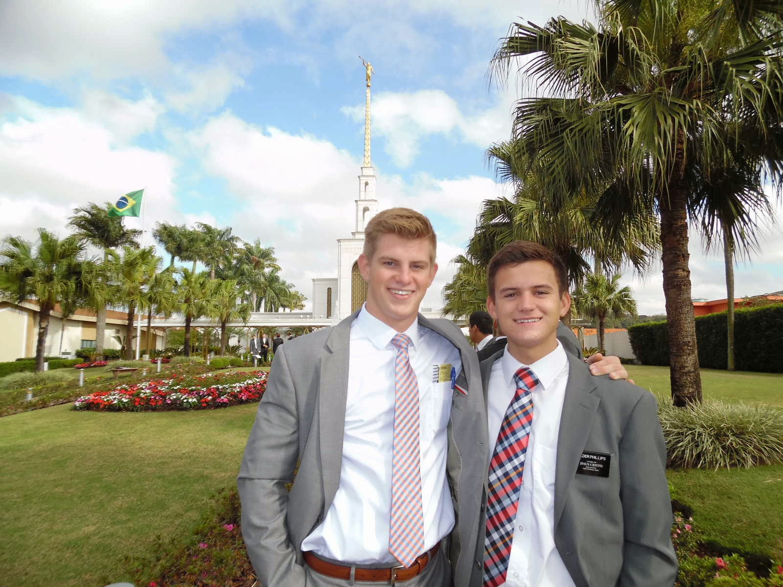 Elder Keller & Elder Phillips in Sao Paulo