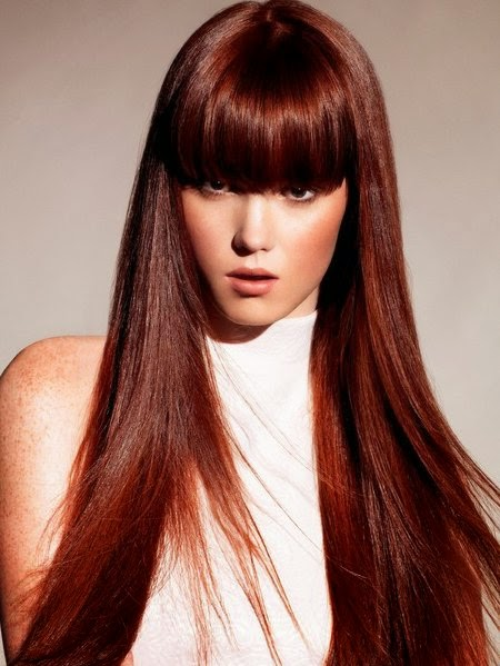 7 Hottest Dark Red Hair Color For 2014 | Hairstyles & Hair Color ...