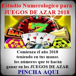ESTUDIO NUMEROLOGICO 2018