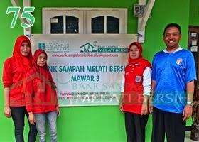 Bank Sampah Melati Bersih Mawar 3 Parung Kulon Duren Mekar Bojongsari Depok