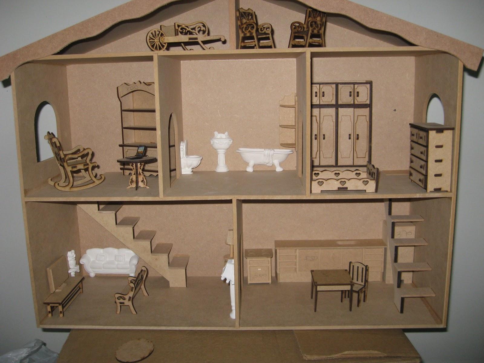 Lembranças Artesanais: Casa de bonecas relato parcial I #614B34 1600x1200