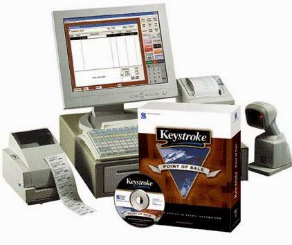 Keystroke POS system