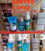"Sorteo en el blog ""Nowelia World"""