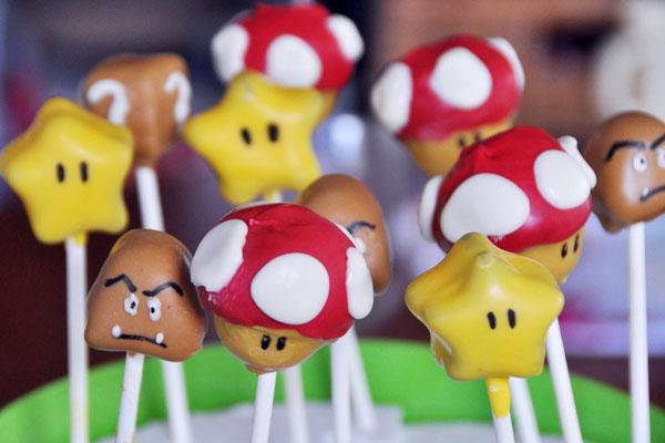 mario cake pops gumba toad