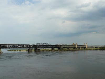 Panorama most w Tczewie