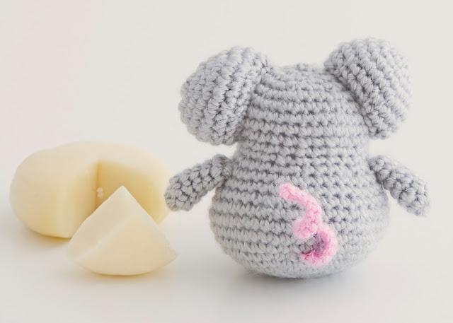 amigurumi raton mouse