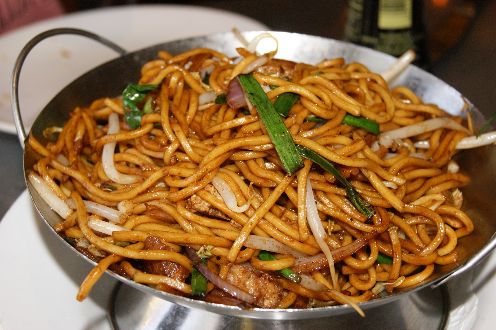 Vegetable Lo Mein Recipe Chinese The lo mein was made with egg
