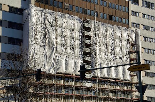 Baustelle Storkower Straße / Kniprodestraße, 10407 Berlin, 07.01.2014