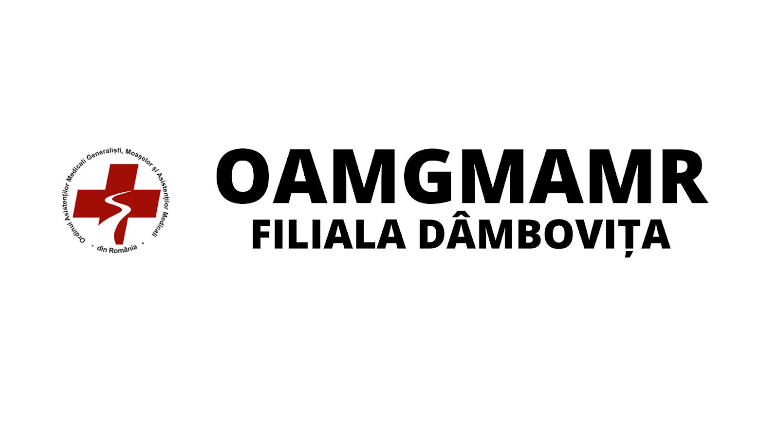 OAMGMAMR Dambovita-Ordinul Asistentilor Medicali filiala Dambovita