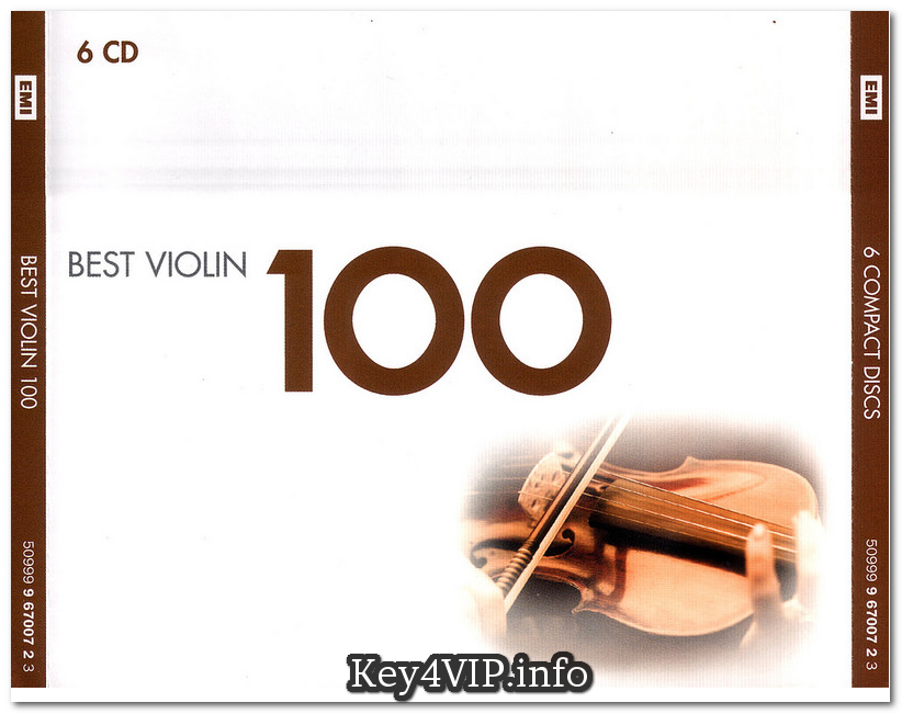 Various Artists - Best Violin 100 Collection (6CD) [FLAC]