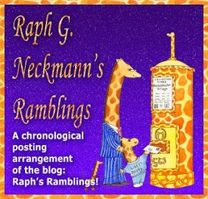 Raph G. Neckmann's Ramblings giraffe blog