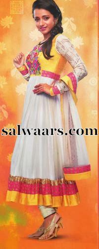 Trisha Salwar Kameez Ad