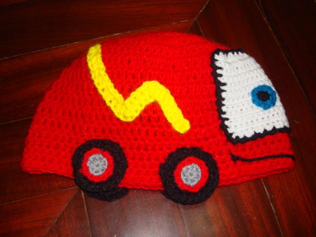 mossita bella crochet y tejido gorro mcqueen hat